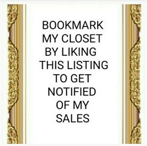 SALE BOOKMARK LIKE THIS LISTING FOR NOTIFICATIONS